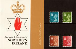 PRESENTATION PACK PPD17 1976 - NORTHERN IRELAND (printed no.84)
