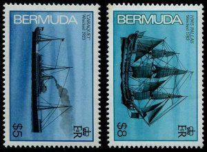 HERRICKSTAMP BERMUDA Sc.# 497-98 Face $13.00 Mint NH