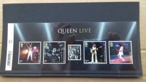 Great Britain 2020 Queen - Band Members Performing Onstage Mint