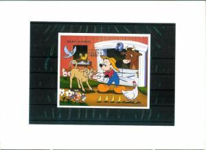 Ghana - Animation - DISNEY - Souvenir Sheet MNH