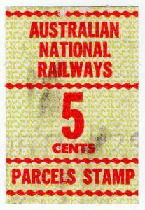 (I.B) Australia Railways - Australian National Railways 5c