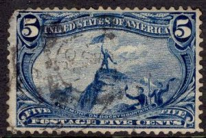 US Stamp #288 USED SCV $25.00