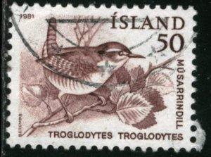 ICELAND #543, USED - 1981 - ICE592AFF6