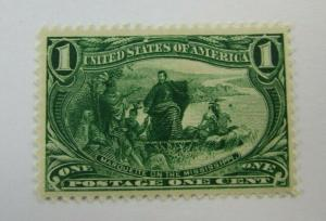 1898  United States SC #285 MARQUETTE ON THE MISSISSIPPI MH  stamp