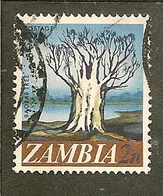 Zambia         Scott 40    Cathedral       Used