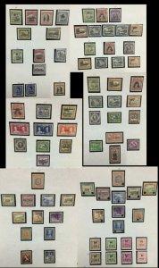 MOMEN: NIUE TIL 1989 COLLECTION MINT OG CAT. $950 LOT #61000-7