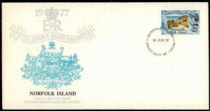 Worldwide First Day Cover, Royalty, Norfolk Islands