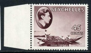 Seychelles SG143b 45c purple-brown U/M