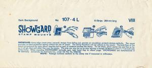 SHOWGARD BLACK MOUNTS 264/107 (10) RETAIL PRICE $16.25