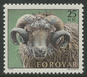 STAMP STATION PERTH Faroe Is. #42 Pictorial Definitive Issue MNH 1978 CV$7.00