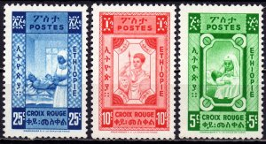 Ethiopia. 1936. 43525. Red Cross. MLH.