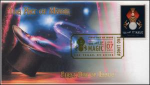 18-225, 2018, The Art of Magic, Digital Color Postmark, FDC, Crystal Ball