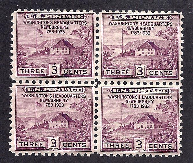 727 Mint,OG,NH..  Block of 4... SCV $1.20