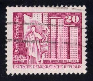 Germany DDR #2074 Lenin Square, Berlin, used (0.25)