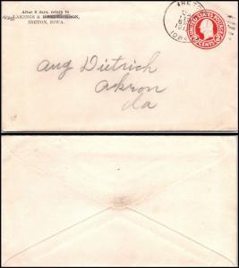 Goldpath: US cover 1917, IRETON, IOWA.  _CV22_P10