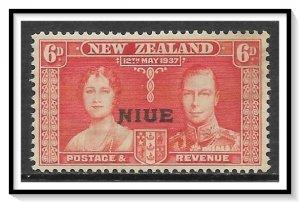 Niue #72 Coronation Issue NG