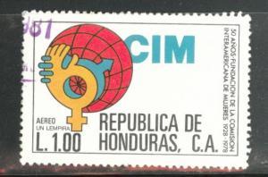 Honduras  Scott C698 Used  airmail stamp