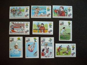 Stamps - Cuba - Scott#3179-3188 - MNH Set of 10 Stamps