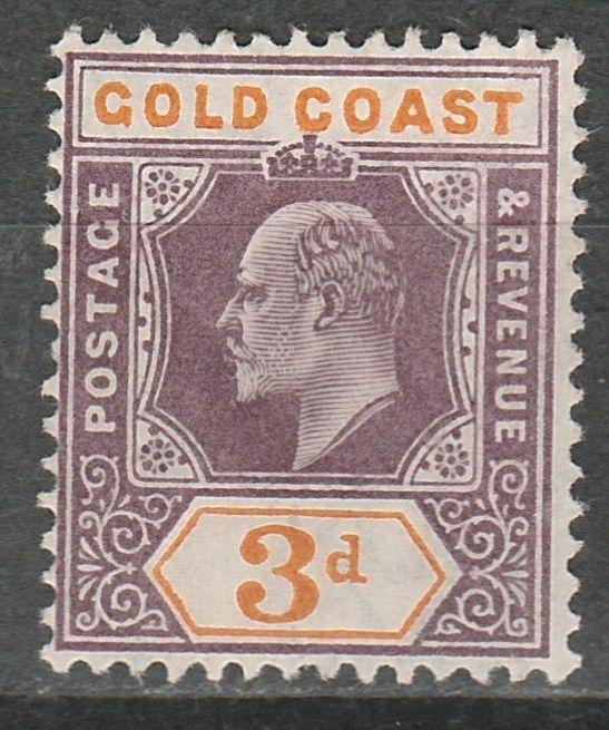 GOLD COAST 1904 KEVII 3D WMK MULTIPLE CROWN CA