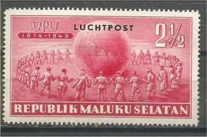 INDONESIA, Maluku Selatan, 21/2r MNH UPU Bogus stamps.