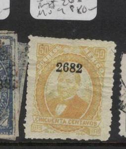 Mexico 50c SC 142 Overprinted 2682 MOG (7dva)