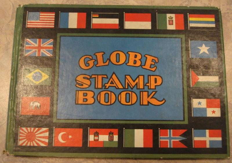 Globe Stamp Book published in 1931.
