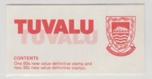Tuvalu Scott #188a//192a Stamps - Mint NH Booklet