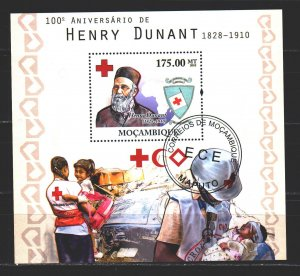 Mozambique. 2010. bl393. Red Cross. USED.