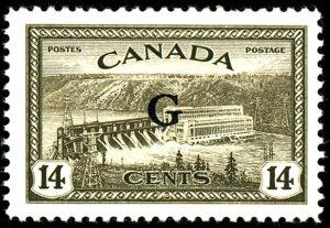 Canada #O22 MINT OG LH