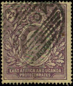 East Africa & Uganda Protectorates Scott #26 Used