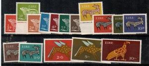Ireland Scott 250-65 Mint NH (Catalog Value $35.65)