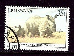 Botswana 417 Used 1987 issue    (ap5573)