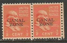 CANAL ZONE 118 MOG PAIR T814-3