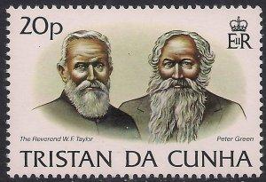Tristan Da Cunha 1983 QE2 20p Island History Umm Stamp SG 356 ( G1058 )