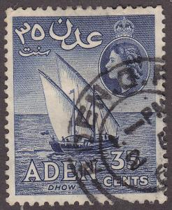 Aden 52a USED 1958 Dhow