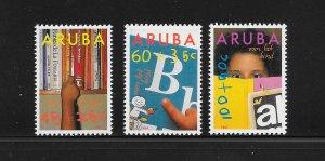 ARUBA #B24-26 CHILD WELFARE MNH
