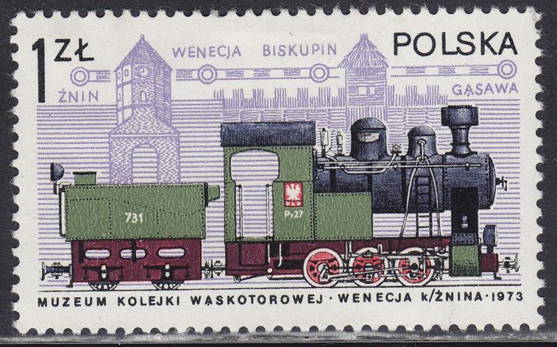 Poland 2252 Narrow-Gauge Engine 1.00zł 1978