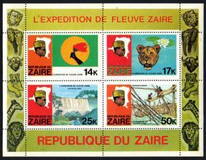 Zaire Souvenir Sheet #909A