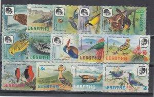 Lesotho 1981 Birds Set To 5m MNH  J9043
