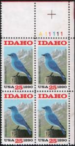 Scott 2439 Idaho Centennial PB MNH CV $3