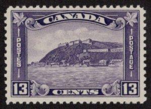 CAN SC #201 MNH 1932 13c Citadel at Quebec CV $75.00