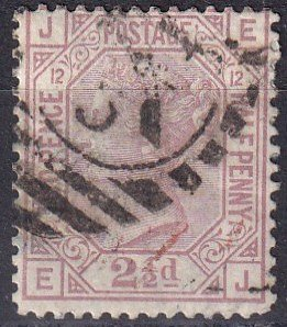 Great Britain #67 Plate 12 F-VF Used CV $60.00  (K2312)