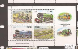 Ireland Trains SC 584a MNH (3-4cei)