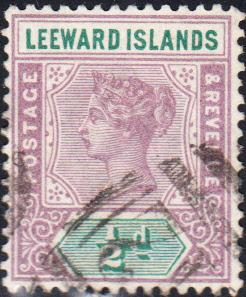 Leeward Isslands #1 Used