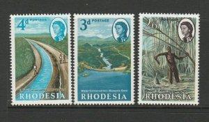 Rhodesia 1965 water Conservation UM/MNH SG 354/6