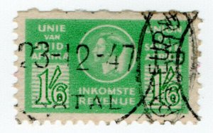 (I.B) South Africa Revenue : Duty Stamp 1/6d