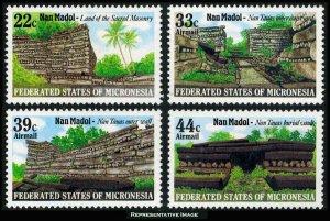 Micronesia Scott 45, C16-C18 Mint never hinged.