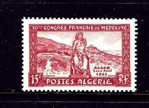 Algeria 262 MNH 1955 Medicine Congress