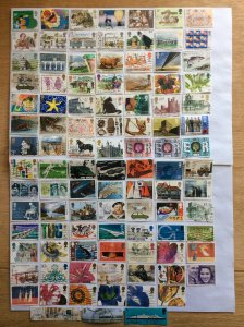 Great Britain x 100 stamps - Lot I
