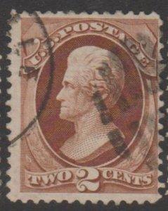 U.S. Scott #135 Jackson Stamp - Used Single - IND
